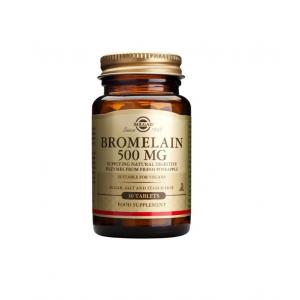 SOLGAR Bromelain 500mg Φυσικό ένζυμο για πέψη πρωτεϊνών 30 ταμπλέτες