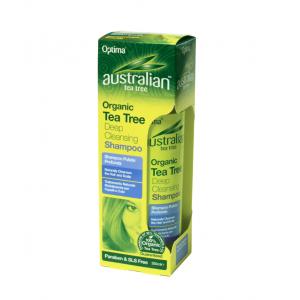 OPTIMA Australian Organic Tea -Tree Deep Cleansing Shampoo, 250 ml