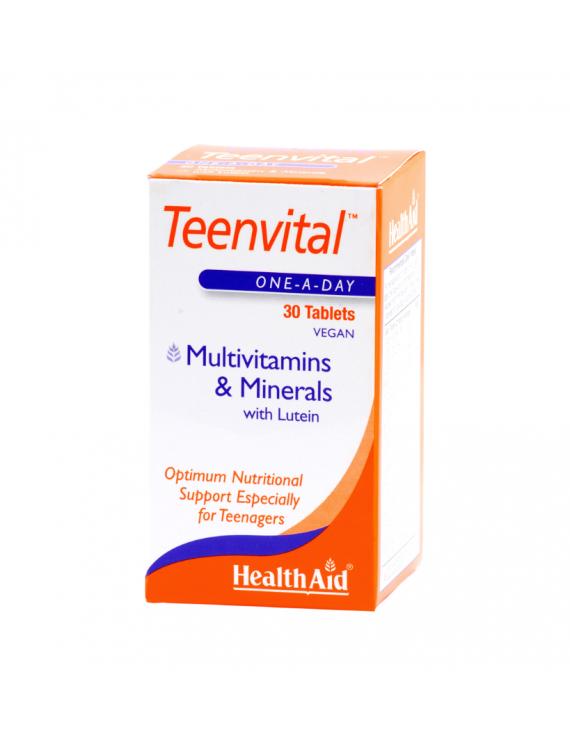 HEALTH AID TEENVITAL multivitamins 30tabs