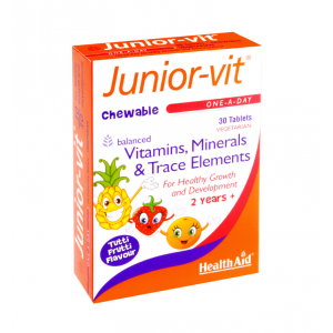 HEALTH AID Junior Vit™ tablets 30's - Blister