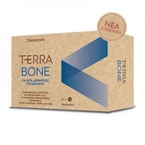 Genecom Terrabone Συμπλήρωμα διατροφής για υγιή οστά, αρθρώσεις και συνδέσμους 60 Κάψουλες