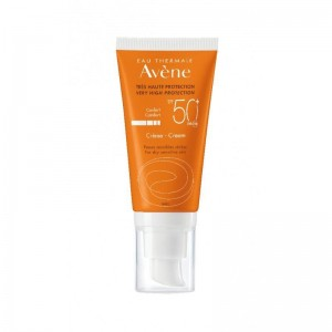 AVENE Eau Thermale Creme SPF50+ Αντιηλιακή Κρέμα Πλούσιας Υφής 50ml