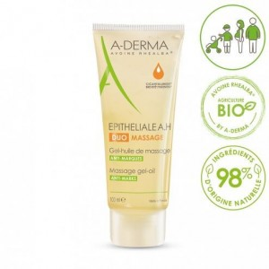 A-Derma Epitheliale A.H Duo Massage Gel-Oil (100ml) - Ελαιώδες Ζελ για Μασάζ Κατά των Ουλών & Ραγάδων