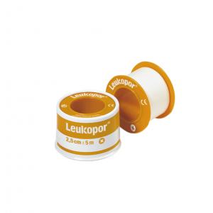 Leukopor 2,5cm X 5m (χαρτινο)2472