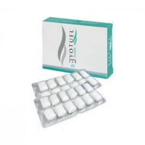 Yotuel Breath Dental Gum Οδοντότσιχλα για Λεύκανση & Δροσερή Αναπνοή, 24τμχ