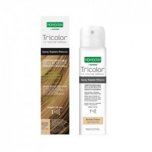 Specchiasol Homocrin Light Blonde Spray Βαφής Μαλλιών Ξανθό Ανοικτο, 75ml