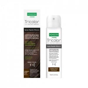 Specchiasol Homocrin Dark Brown Spray Βαφής Μαλλιών Καστανο Σκούρο, 75ml