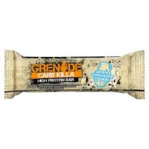 GRENADE Carb Killa Μπάρες Υψηλής Πρωτεΐνης White Chocolate Cookie, 60gr
