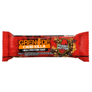 Grenade Carb Killa Μπάρες Υψηλής Πρωτεΐνης Peanut Nutter 60gr