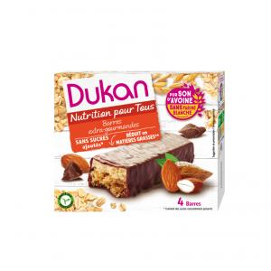 Dukan Expert Γκοφρέτα Βρώμης Dukan με Σοκολάτα 4 τεμάχια:ένα Υγιεινό Σνακ πλούσιο σε Φυτικές Ίνες  για Γρήγορο Αίσθημα Κορεσμού