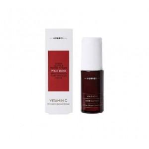 Korres Άγριο Τριαντάφυλλο Serum με Βιταμίνη C για Λάμψη & Πρώτες Ρυτίδες, 30ml