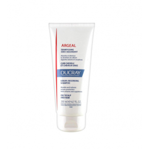 DUCRAY Argeal Sebum-absorbing Treatment Shampoo - Σαμπουάν 200ML