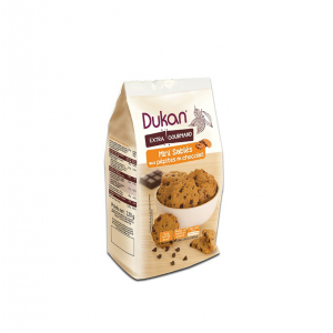 Dukan μίνι κουλουράκια βρώμης με κομμάτια σοκολάτας – 120g