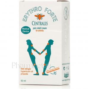 Erythro Forte Centralis (50ml) - Κρέμα Κατά του Πόνου, Αρθρώσεων & Μυών