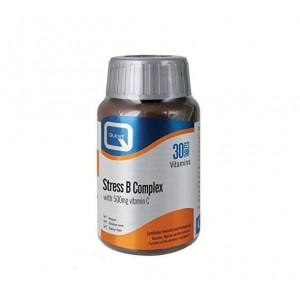 Quest Stress B Complex with Vitamin C 500mg Συμπλήρωμα για Περιόδους Αυξημένου Άγχους, 30tabs