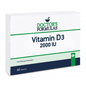 Doctor's Formulas Vitamin D3 2000iu 60 Μαλακές Κάψουλες
