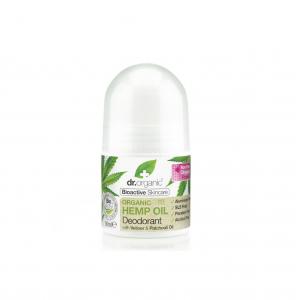 Dr. Organic Organic Hemp Oil Deodorant Φυσικό Αποσμητικό με Οργανικό Έλαιο Κάνναβης, 50ml