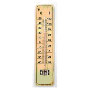 Θερμόμετρο χώρου, ξύλινο