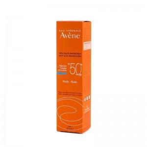 Avene Fluid SPF50+ Αντηλιακή Λεπτόρρευστη Κρέμα Προσώπου 50ml.