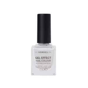 KORRES Gel Effect Nail Colour No.11 Coconut Smoothie Βερνίκι Νυχιών (11ml)
