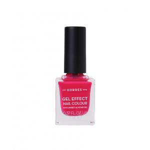 KORRES Gel Effect Nail Colour No.22 Juicy Fuchsia Βερνίκι Νυχιών (11ml)