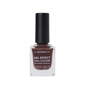KORRES Gel Effect Nail Colour No.61 Seashell Βερνίκι Νυχιών (11ml)