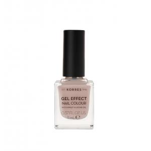 Korres Gel Effect Nail Colour Βερνίκι Νυχιών Νο 31 Sandy Nude 11ml