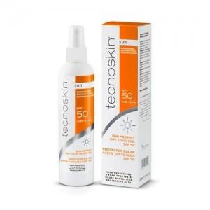 Tecnoskin Dry Touch Oil SPF50 - Αντηλιακό Ξηρό Λάδι Σώματος, 200ml