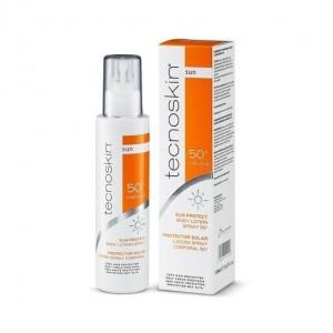 Tecnoskin Sun Protect Body Lotion Spray SPF50+ Αντηλιακή Λοσιόν Σώματος σε Σπρέι, 150ml