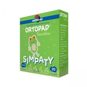Ortopad 20 Medium simpaty .Οφθαλμικά αυτοκόλλητα για στραβισμό (2 έως 4 ετών)