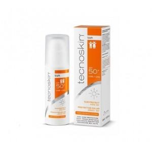 Tecnoskin Sun Protect Kids SPF50+ Αντηλιακή κρέμα προσώπου & σώματος για την ευαίσθητη παιδική επιδερμίδα, 50ml