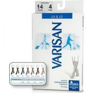 Varisan Lui & Lei Ανδρικές και Γυναικείες Κάλτσες 14 mm Hg KΑΦΕ-MARONE Μέγεθος 4