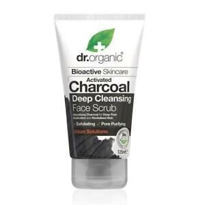DR. ORGANIC Activated Charcoal Deep Cleansing Face Scrub 125ml