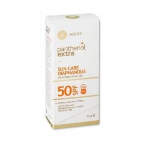 Medisei Panthenol Extra Sun Care Diaphanous Face Gel SPF50 50ml