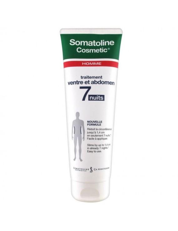 Somatoline Cosmetic Man Αγωγή Κοιλιά – Μέση 7 Νύχτες Εντατική Ανδρική Αγωγή σε 7 Νύχτες για τη Μείωση του Λίπους σε Κοιλιά & Μέση, 250ml
