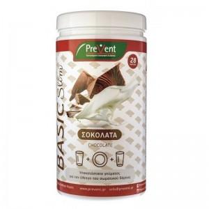 Prevent Basic Slim Υποκατάστατο Γεύματος με Υδατάνθρακες, με Γεύση Σοκολάτας, 465gr