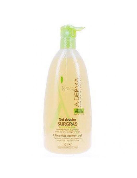 A-Derma Gel Douche Surgras Shower Gel - Αφρόλουτρο, 750ml