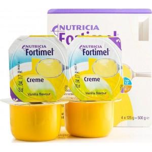 Nutricia Fortimel Crema Vanilla, 4 x 125gr