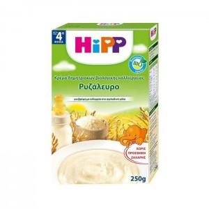 HiPP Ρυζάλευρο Κρέμα δημητριακών Βιολογικής Καλλιέργειας μετά τον 4ο μήνα, 250gr.