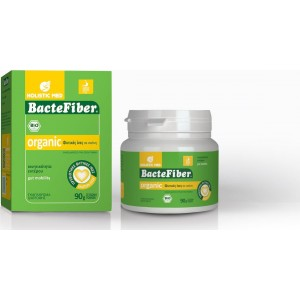 Holistic Med Bactefiber Organic Powder 90gr