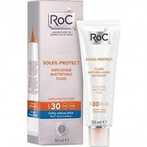 Roc Soleil Protect Anti-shine mattifying fluid SFP30 50ml