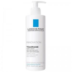 La Roche Posay Toleriane Caring Wash Καθαρισμός Προσώπου για την Ευαίσθητη Επιδερμίδα, 400ml
