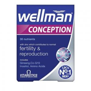 Vitabiotics Wellman Conception, 30tabs
