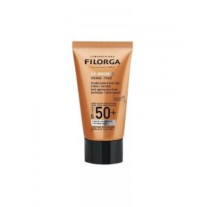 Filorga  UV Bronze Face spf50 αντιηλιακή κρέμα προσώπου με αντιγηραντική, 40ml