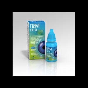 Novax Navi Infla Λιπαντικό Οφθαλμικό Διάλυμα, 15ml