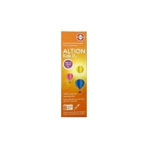 Vianex Altion Kids D3 Drops - Συμπλήρωμα Διατροφής D3 Σε Σταγόνες Για Βρέφη Και Παιδιά, 20m