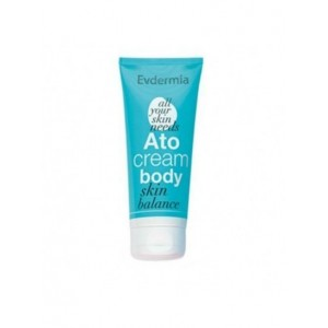 Evdermia Ato Cream Body Ενυδατική & Καταπραϋντική Κρέμα Σώματος 175ml