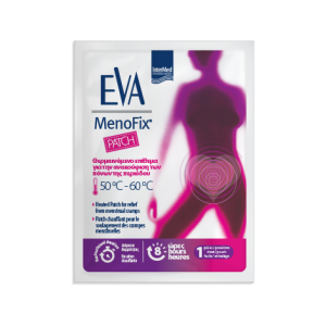 Intermed Eva MenoFix Patch Θερμαινόμενο Επίθεμα για την Ανακουφιση των Πόνων της Περιόδου 1 Τμχ.