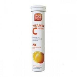 Nutralead Βιταμίνη C 1000mg Με Γεύση Πορτοκάλι , 20τεμ