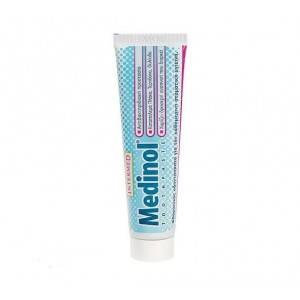 Intermed Medinol Toothpaste Φθοριούχος Οδοντόκρεμα, 100 ml